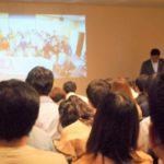 未来技術推進協会が主催する初の講演会で、予想以上の100人規模の超満員に感謝!!